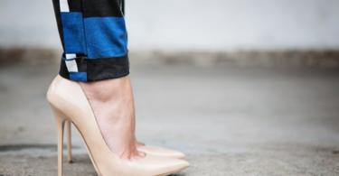 обувки телесен цвят