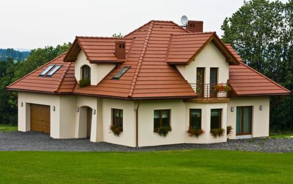 покриви на къщи