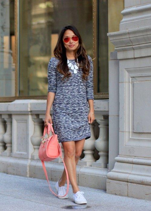 рокля с кецове