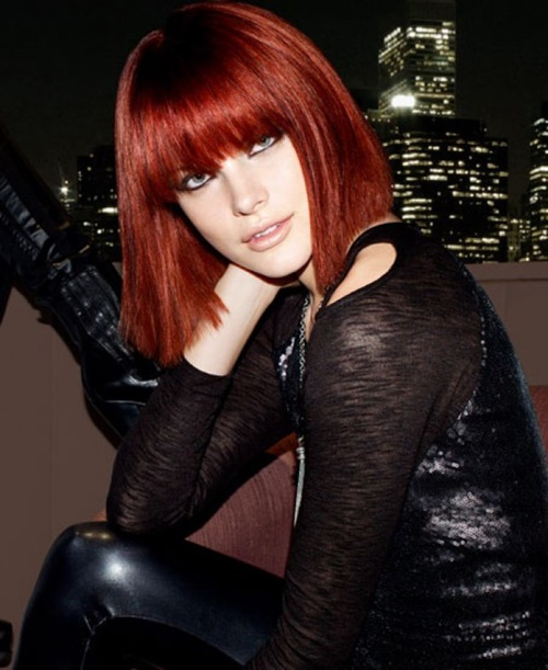 червена-коса