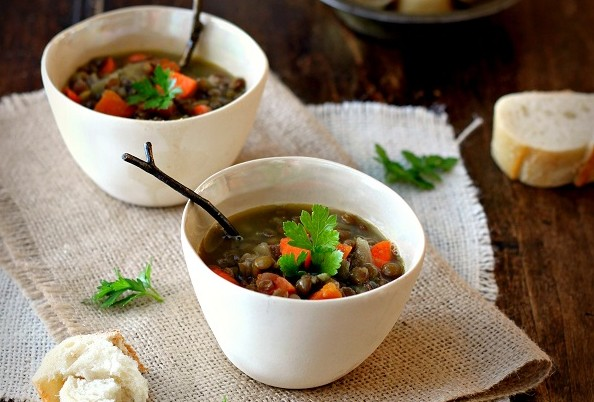 рецепти за бъдни вечер - леща яхния