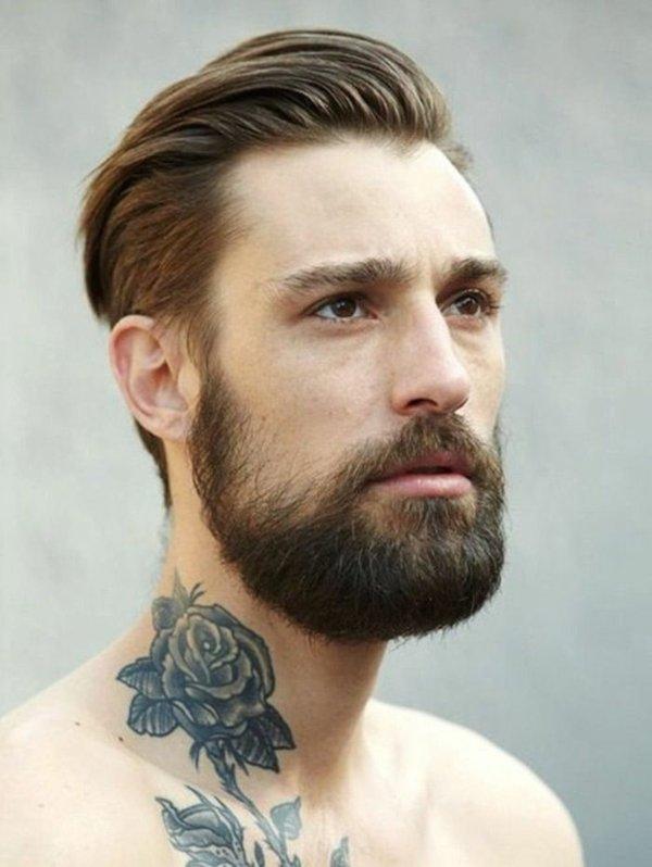 мъжки-прически-според-брадата