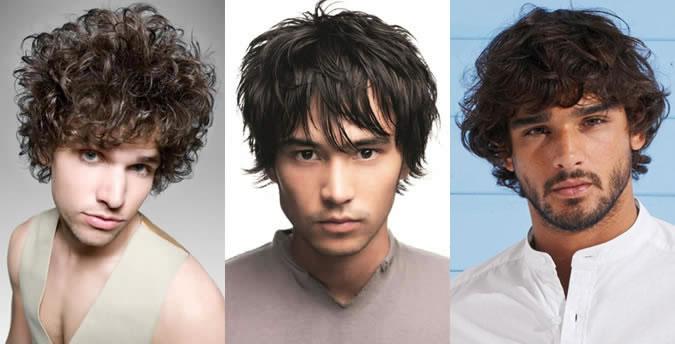 мъжки прически според формата на лицето