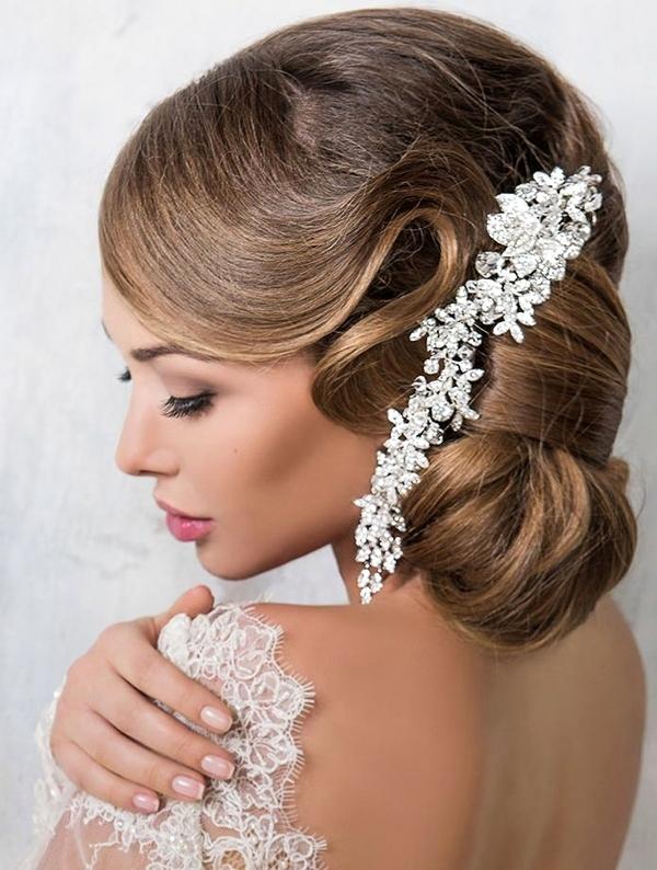 сватбени прически 2016