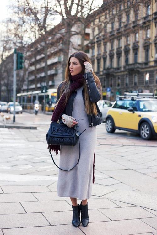 какво да облечем за офиса през зимата