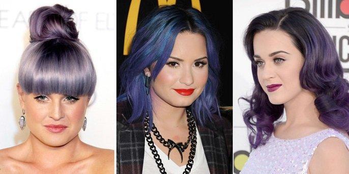 лилава коса за 2016