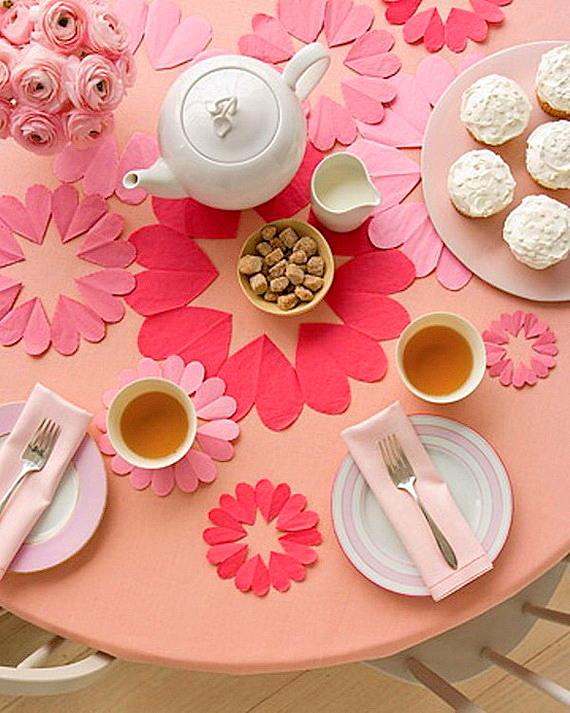 sveti valentin masa s dekoraciq