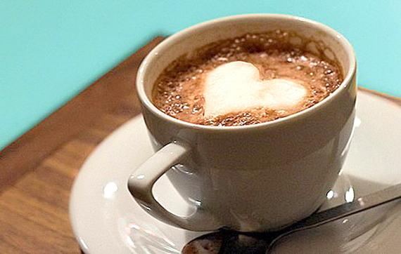 kafe za sveti valentin