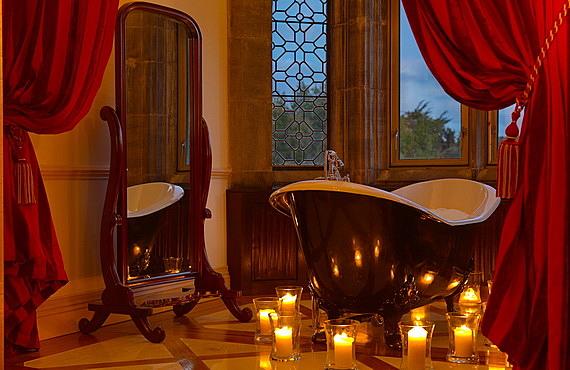 romantichna ideq za sveti valentin s vana i sveshti