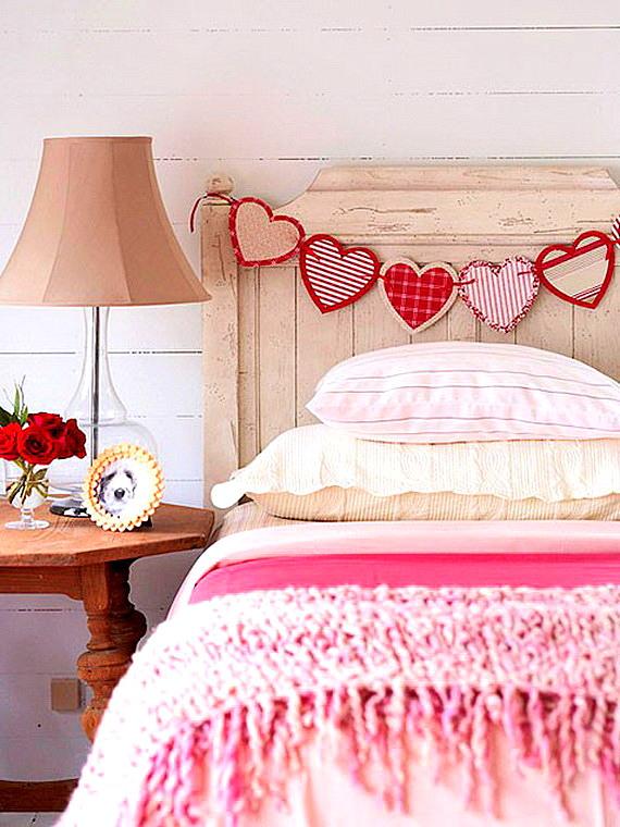 ukrasa za sveti valentin za spalnq