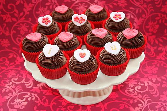 sveti valentin shokoladovi mufini
