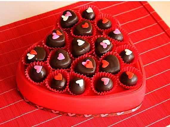 sveti valentin shokoladovi bonboni