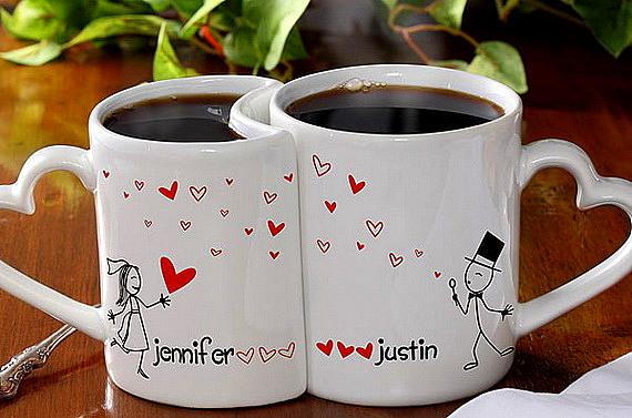 chashi za kafe za sveti valentin