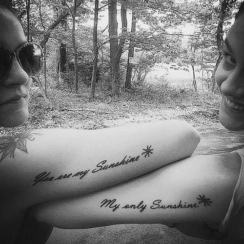татуировки за приятели