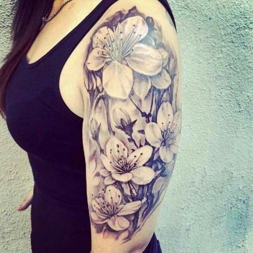 татуировки цветя за ръка