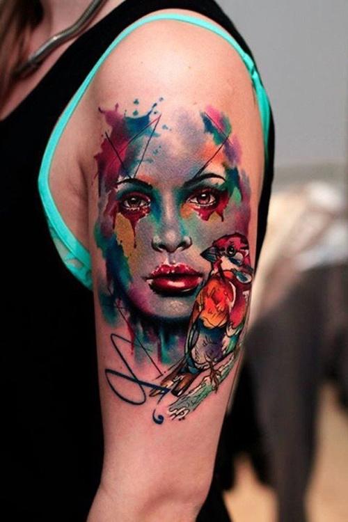 цветни татуировки