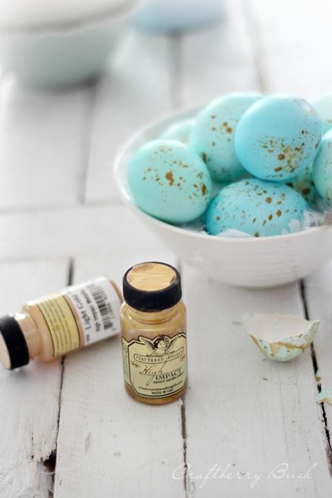 лесно боядисване на великденски яйца