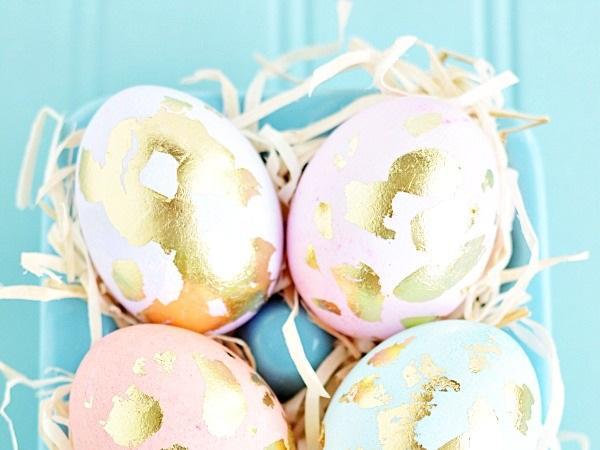 златни великденски яйца