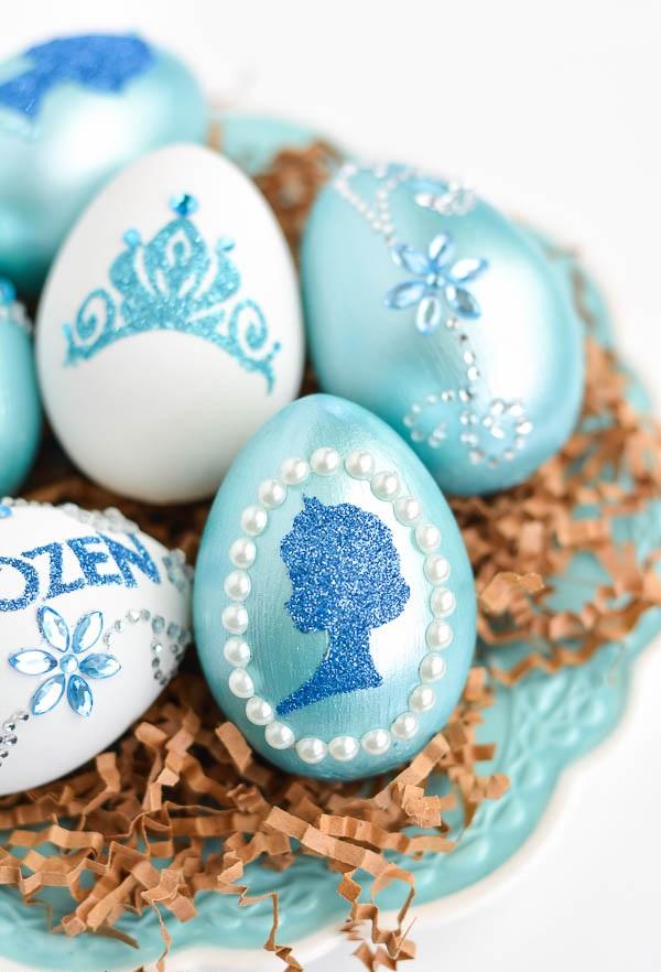 Великденски яйца Замръзналото кралство