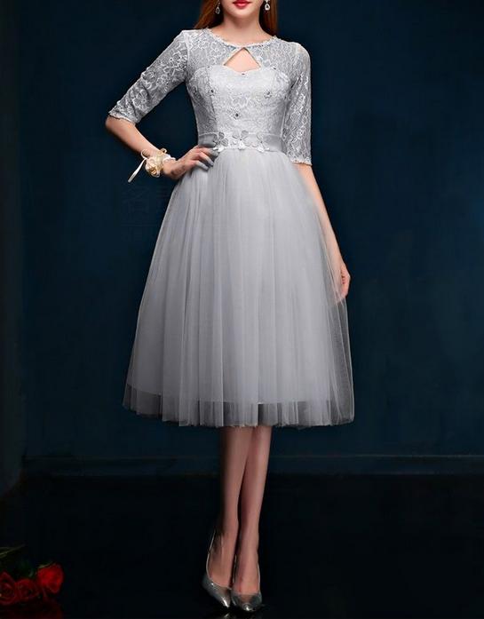 бална рокля според формата на тялото