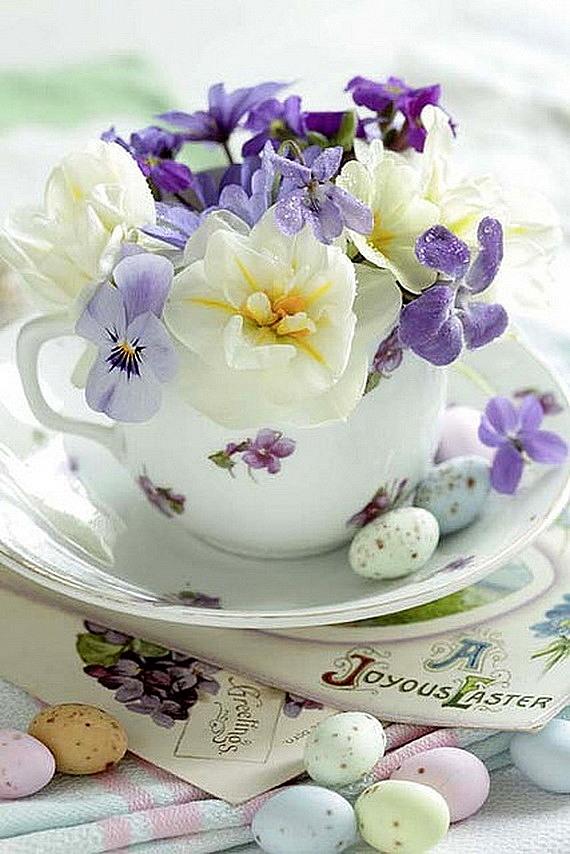 dekoraciq za velikden s cvetq