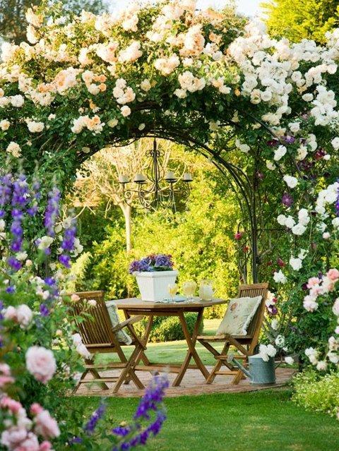 градини с цветя