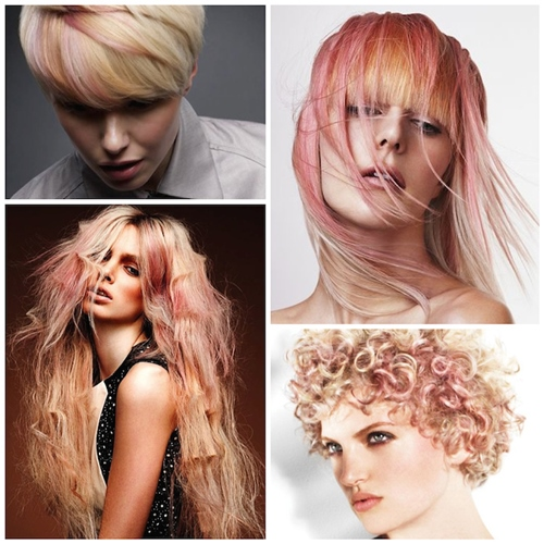 blondinki cvqt rozovo zlato