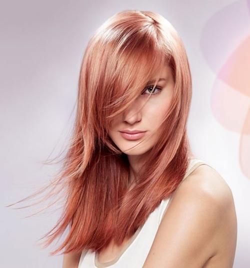 cvqt rozovo zlato za kosa