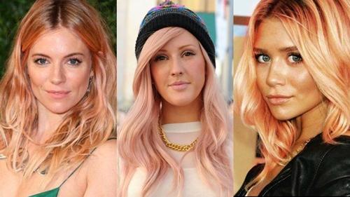 cvqt rozovo zlato za blondinki