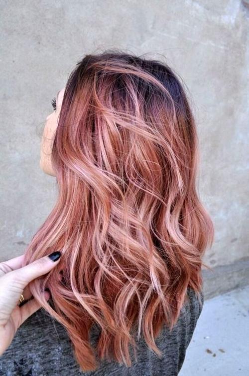 cvqt za kosa rozovo zlato