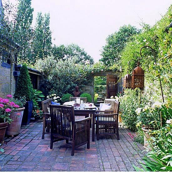 Идеи за градината с малки размери