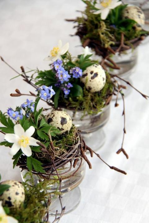 великденска украса с яйца