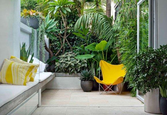 оптимизиране на пространството в малката градина