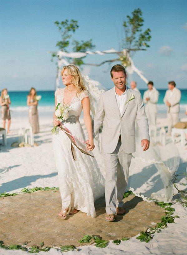 Плажна сватба на Бахамите
