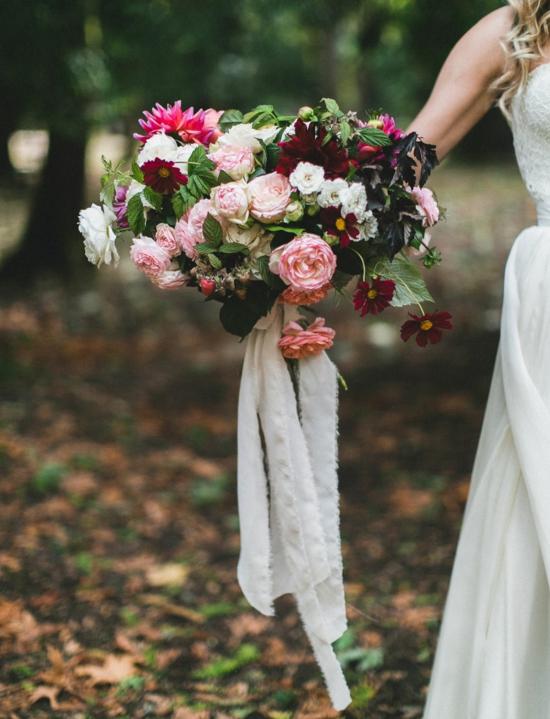 сватбени букети 2016