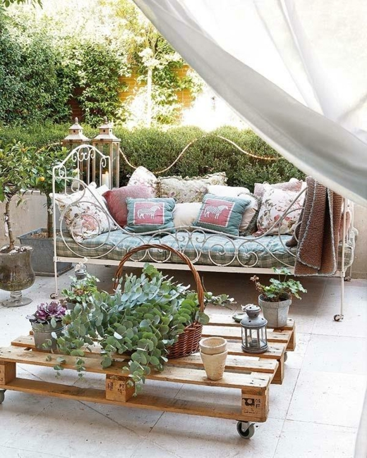 палети за градината