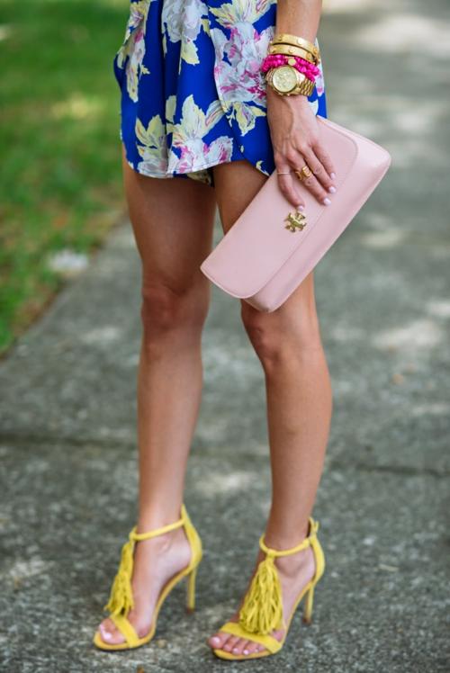 сандали с ресни