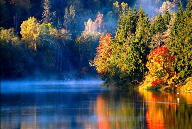 есенни пейзажи