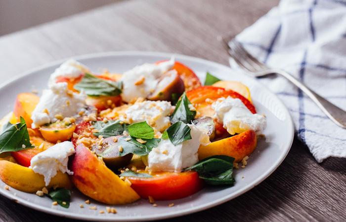 salati s plodove