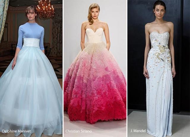 сватбени рокли 2017