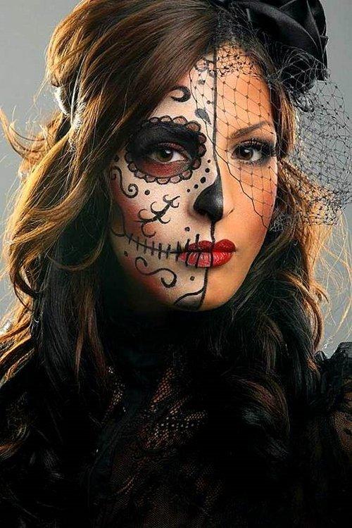 грим за Хелоуин 2016