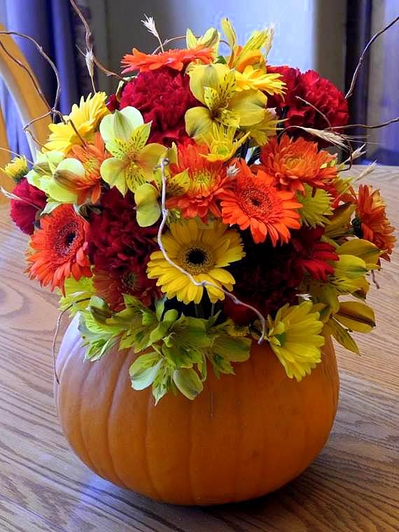 украса през есента