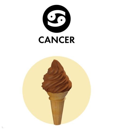 зодии и сладолед