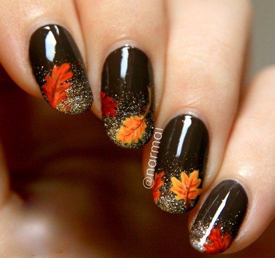 идея за маникюр за есента