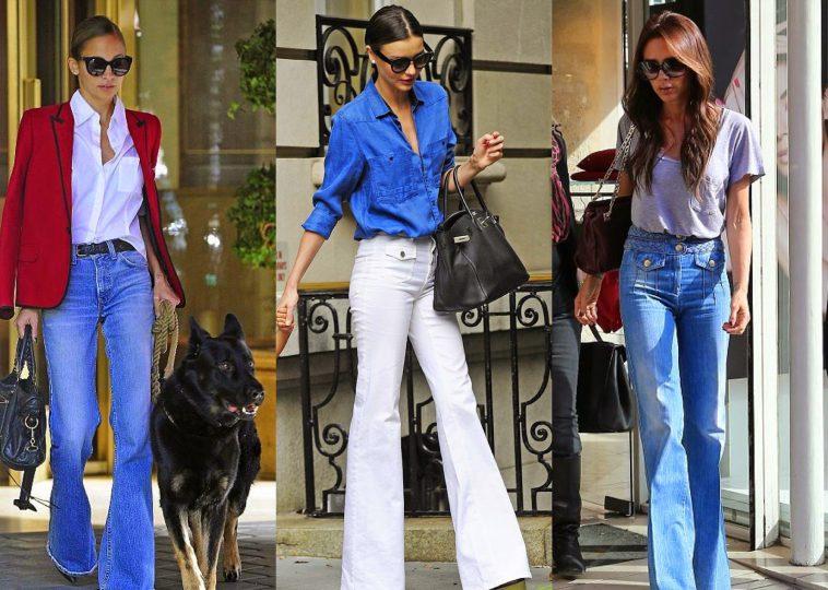 Как да носим панталони с широки крачоли