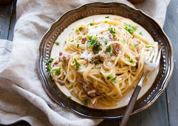 spageti karbonara
