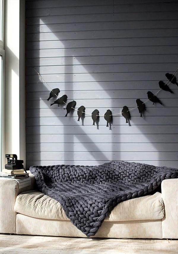 плетено одеяло