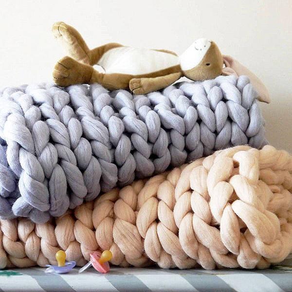 pleteno odealo na dve kuki napravi si sam