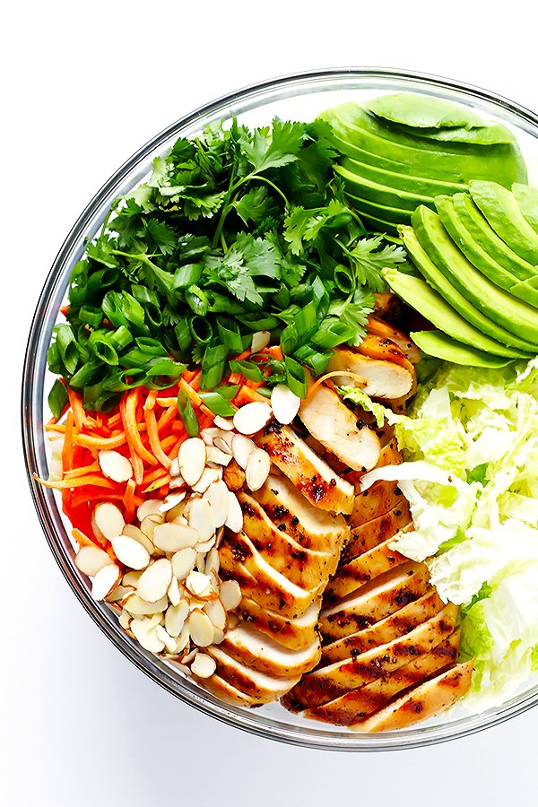 salati s avokado