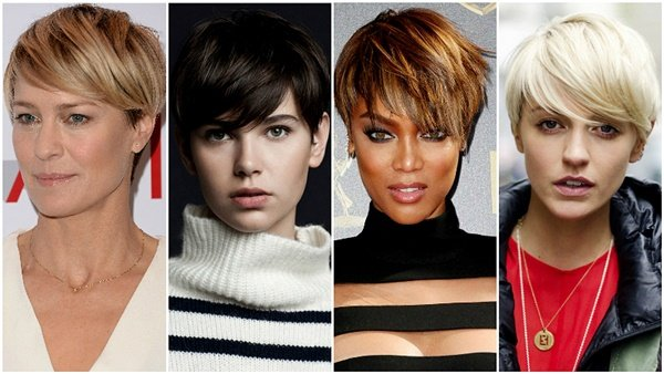 Stilizovanje kratke prave kose